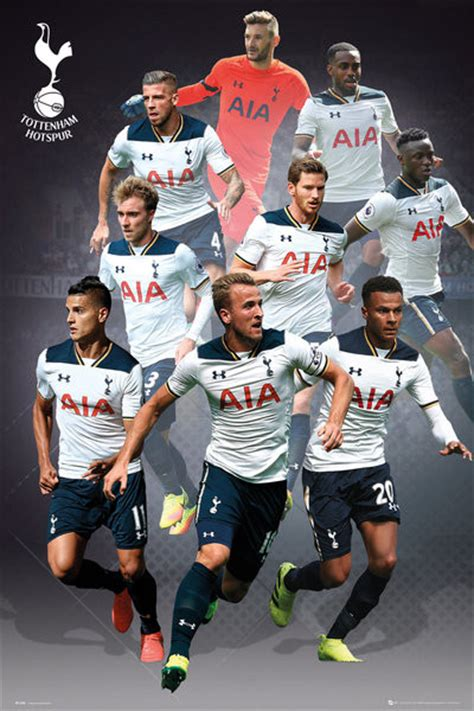tottenham hotspur 2015 16 players poster iposters f tottenham players 16 17 plakat poster p 229 europosters dk