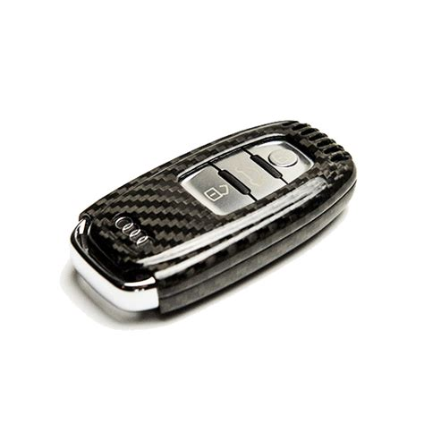 audi a5 key carbon fibre key cover raywell design