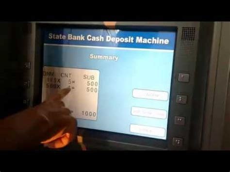 can you make a withdrawal without a debit card how to deposit money without atm debit card in sbi
