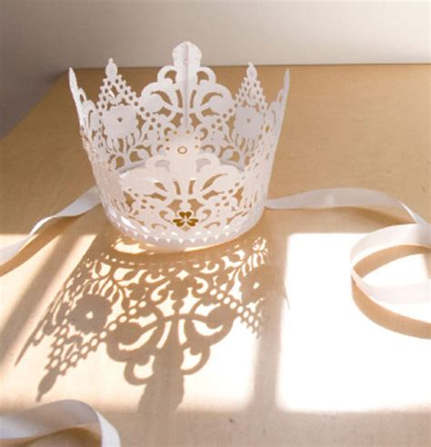 How To Make A Paper Tiara - luphia princess for a day