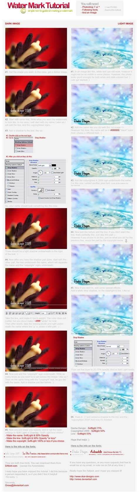 tutorial watermark watermark tutorial by onixa on deviantart