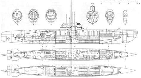 U Boat Drawing by U Boat Plans Aiiz