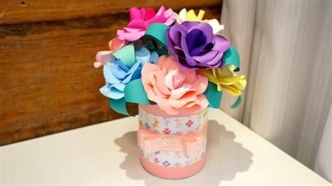centro de mesa flores de papel