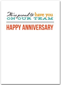 employee anniversary cards business greeting cards