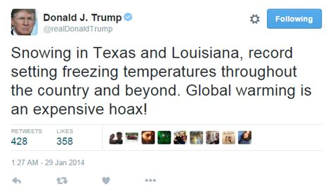 donald trump climate change yes donald trump did call climate change a chinese hoax