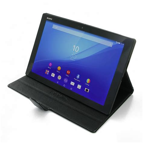 Flip Cover Tablet Advan T5c sony xperia z4 tablet leather smart flip carry cover pdair book