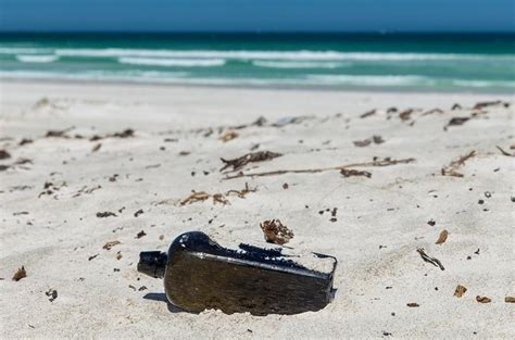 Bookcase Perth World S Oldest Message In A Bottle Washed Up On Australian