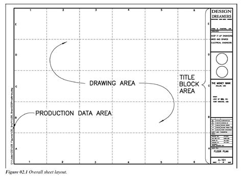 standard layout of a report architectural drawing paper sizes dkhoi com