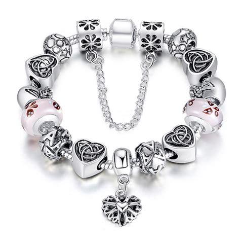 pandora type athenafashion pandora style charm bracelet