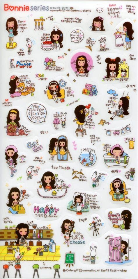 printable korean stickers 26 best diary sticker images on pinterest korean