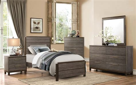 twin furniture bedroom set twin bedroom sets andrew s furniture and mattress