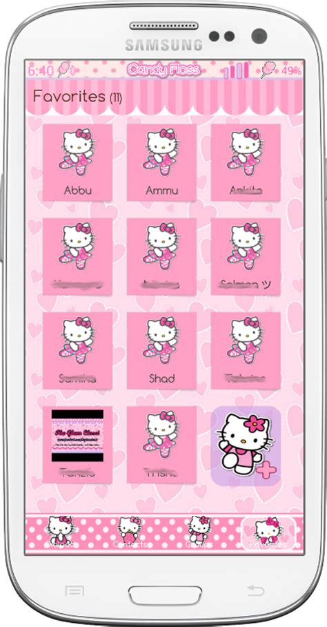 download theme cute for android free download theme android cute hello kitty go sms and go