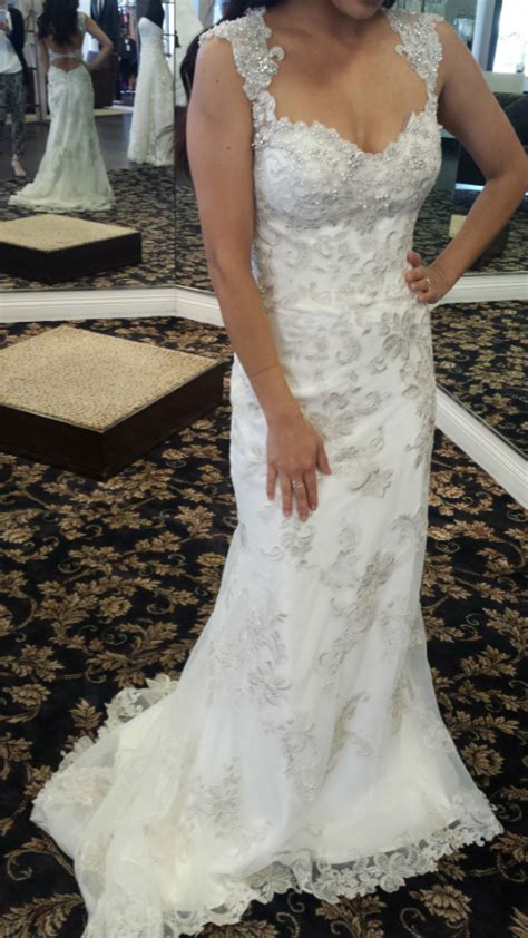 anyone tried on maggie sottero jade i m in
