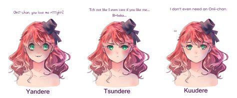 anime yandere anime yandere tsundere images