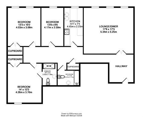 flat plan 3 bedroom flat house plans