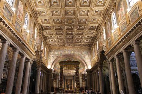 interno 18 santa interno santa maggiore foto di basilica di santa