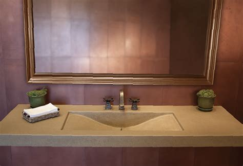 restaurant bathroom sinks concrete sinks for the restaurant and public restrooms by