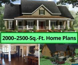 how big is 2500 square feet 10 features to look for in house plans 2000 2500 square feet