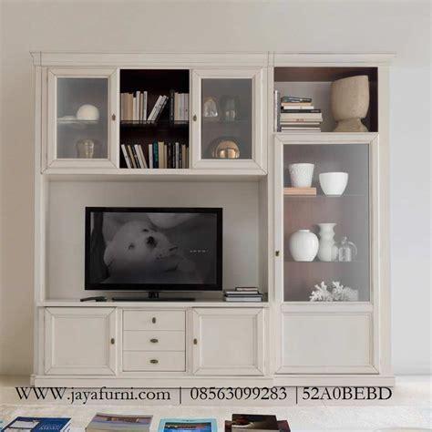 Rak Tv Cat Duco rak tv susun minimalis duco putih jayafurni mebel jepara