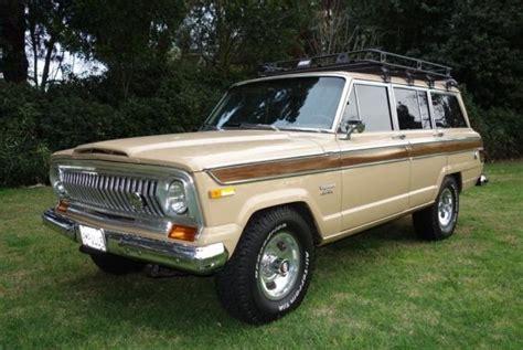 1976 Jeep Wagoneer Bat Exclusive Clean 53k Mile 1976 Jeep Wagoneer Bring A