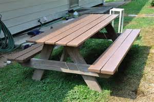 free picnic table plans with separate benches pdf picnic table separate bench plans plans free