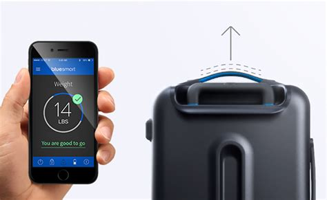 design milk luggage connecting flight bluesmart smart carry on luggage