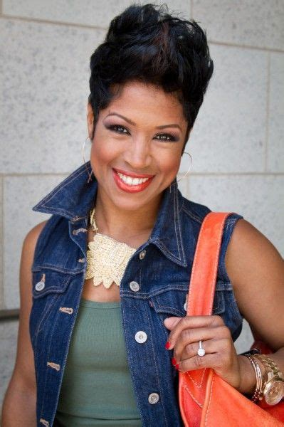 val warner with her natural hair 371 best images about beautiful relaxed colored permed