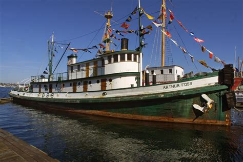 old boat spotlights historic tug arthur foss to take film spotlight again