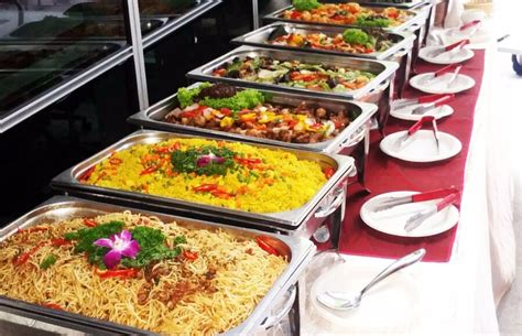 catering buffet set up pictures to pin on pinterest