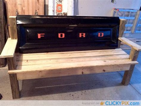 tailgate bench diy 41 diy truck tailgate bench ideas upcycle a rusty