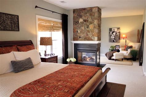 fireplace in master bedroom 20 bedroom fireplace designs hgtv