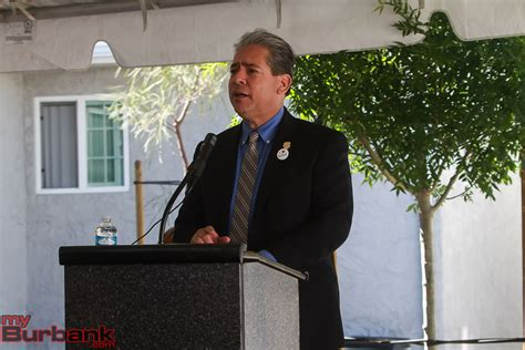 Burbank Housing Authority by City Officials Gather For Dedication And Opening Of