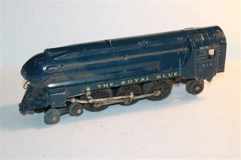 46 Tefity Set 3in1 Royalblue american flyer royal blue 556 o railroading on
