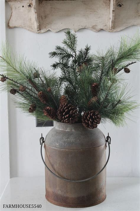 farmhouse christmas decor you pinspire me