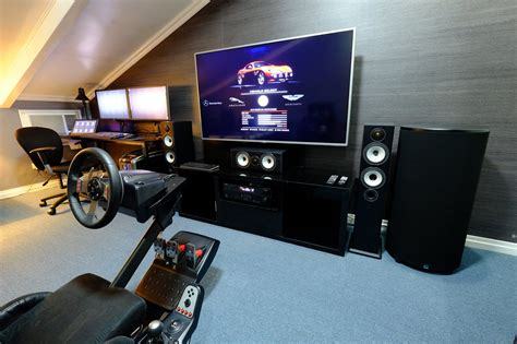 fans beautiful home theater gaming