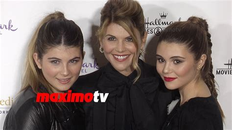 lori loughlin daughters 2016 lori loughlin with daughters isabella olivia northpole