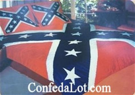 confederate flag bed set confederate full queen quilt comforter and pillow sham set new