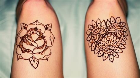 henna rose tattoo tumblr how to make henna temporary tattoos at home tattoos spot