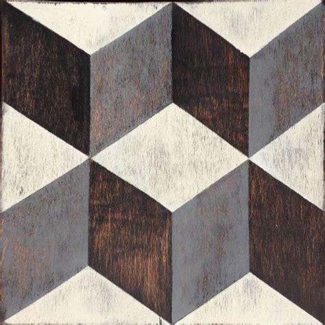 tumbling blocks wood tile tiles pinterest