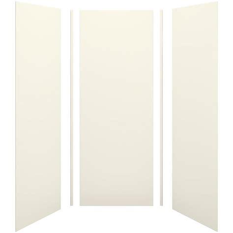 Kohler Shower Panels by Shop Kohler Choreograph Biscuit Shower Wall Surround Side