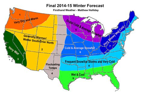 2014 2015 winter weather forecast map u s old farmer hshire outdoors 2014 2015 winter weather forecasts