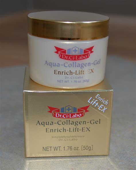 Collagen Gel dr ci labo aqua collagen gel enrich lift ex review