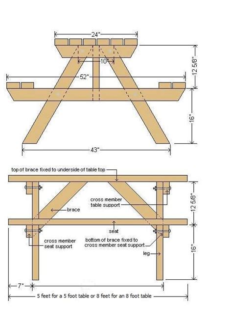 picnic table woodworking plans picnic table plans woodworking jigs picnic