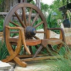 Wagon Wheel Home Decor Wagon Wheel Bench Decor Pinterest
