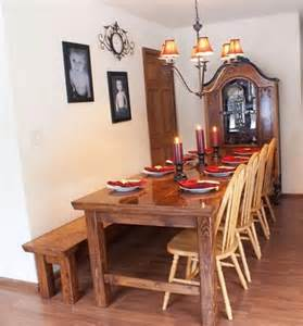 Farmhouse Kitchen Table Plans Building Plans For Farmhouse Table For The Hubs To Make