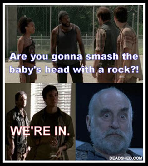 Walking Dead Season 3 Memes - deadshed productions utees and traitors the walking