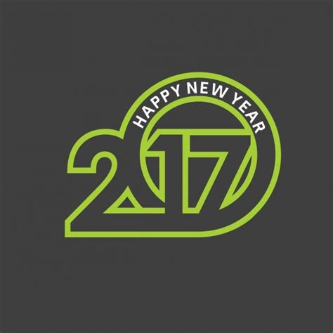 Happy New Year 2017 New 9 modern background of happy new year 2017 vector free