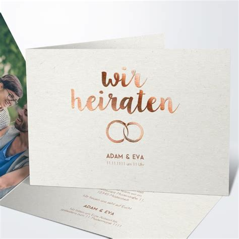Hochzeitseinladung Ja by Hochzeitseinladung Edles Ja Detail