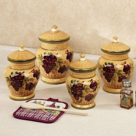 tuscan style kitchen canister sets 96 best images about canisters on pinterest ceramics