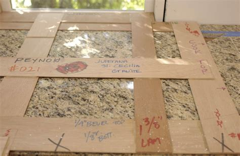 Template For Granite Countertops by Creating Countertop Templates Homebuilding